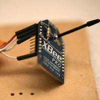 Name: xbee04.jpg Views: 169 Size: 86.7 KB Description: Now the message of the day.  Don't solder XBee's by the pins.  U disqualify yourself from ever using a header & U can't strap in the wire bundle.  Solder the solder side like normal people.