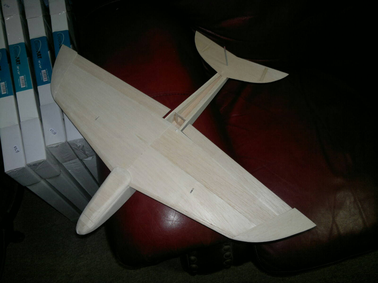 "All balsa slope model 18"" span"