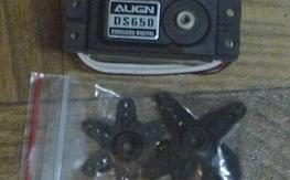 New Align DS650 Tail Rotor Servo