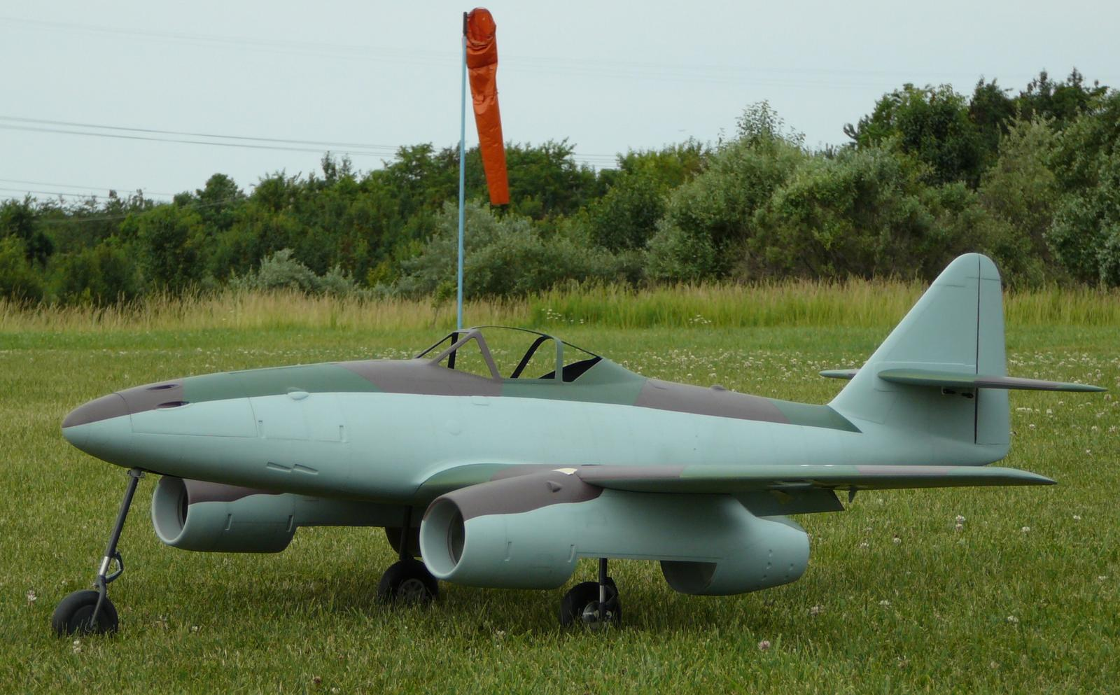 AW Me-262 with new colors.