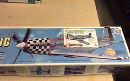 Top Flite P-51B Collectors edition kit. (NIB)