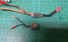 T-Motor T1306  and T-Motor 6A ESC
