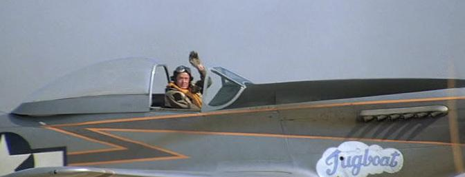 Ray Hanna piloted the P51-D �Tugboat� in the 1987 film <i>Empire of the Sun.</i>