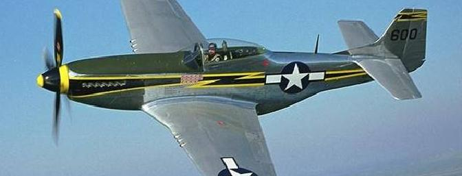 The quality of this photo suggests that it is a restored P-51D.