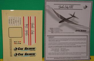 Instruction manual and decal sheet.