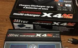 Hitec X4 Ac plus multi charger