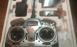 Spektrum DX8  / AR6210 / DSM sats