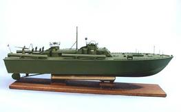 "Dumas U.S. Navy PT-109 RC Torpedo Boat Unassembled Kit 33"" 1233"
