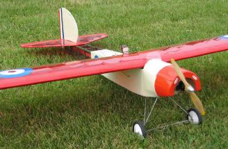 Top Flite Elder converted by Ken Flaglor.