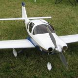 Chris Balser converted this Great Planes Lancair.