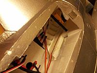 Name: 31 Servo wiring taped up.jpg