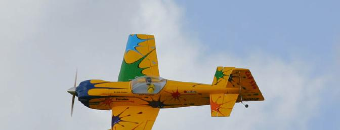 I don't think you can find another plane that is more colorful than the Chapman CAP 580. Photo Credit: W. Shelley