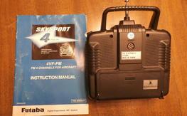 Futaba 4VF-FM transmitter