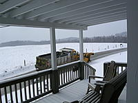Name: View out the front door keeping the road clear.jpg