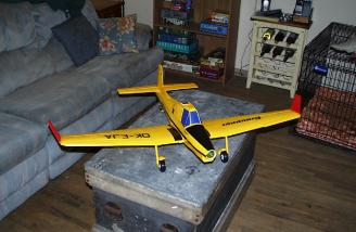 The finished airplane