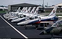 "Name: 0898219.jpg Views: 285 Size: 82.6 KB Description: Slovak Air Force - Aerobatic Air show group - ""Biele Albatrosy"""