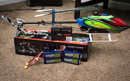 Default Trex 450L Dominator 6S with GPRO - Never Flown