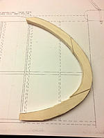 Name: Pair of wing tips.jpg Views: 33 Size: 348.2 KB Description: There are actually all the rough cut parts pictured here for both tips. Typically I double stick two sheets of balsa together, trace out the pattern, cut as one piece and separate before joining the pieces to form the tip.