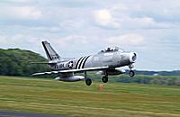 Name: F-86 on landing.jpg
