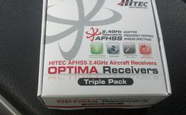 Hitec Aroura 9 ch Optima 9 Receiver in box x2 $60 each shipped