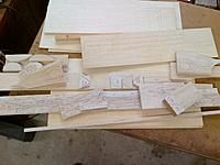 Name: 2-24-2014 KYO B-29 Templates and Parts Ready to Cut Out (1).jpg Views: 16 Size: 1.03 MB Description: