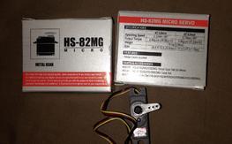 Hitec HS-82MG - (x2)