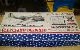 Cleveland Models Martin B-12 Bomber kit