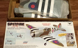 NIB Spitfire 40 ARF by Phoenix Models. Pre-covered, retracts
