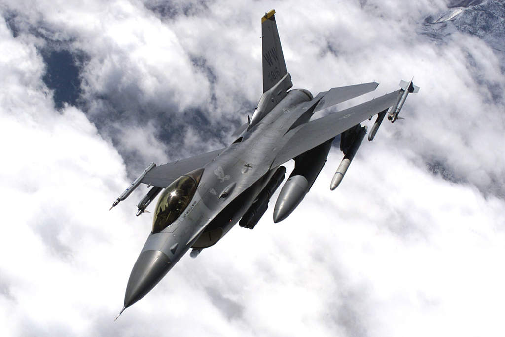 The F-16 is a versatile jet fighter, and it has been so since the late 1970s. Dozens of countries fly them these days, but the U.S. Air Force is still its prime user.