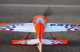 Taxying around the pavement is a quiet and simple affair, thanks to the steerable tail wheel already installed.