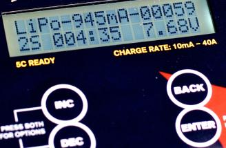 The discharge option also shows real-time statistics of how much has been removed thus far. And, if your PowerLab is connected to a battery instead of a power supply, it will get charged as the (in this case) LiPo gets discharged.
