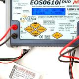 The voltage information as well as the charge rate gets displayed as you add electrons.