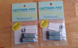NEW Lectron Pro 1s 180mAH 45C batteries