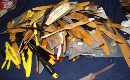 179 Propellers, 5 inch to 18 inches