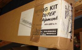 Carl Goldberg Super Chipmunk wing kit