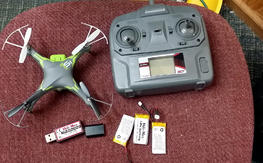 Like New Helimax 1Si SLT RTF Quad w/ RTH , & Camera