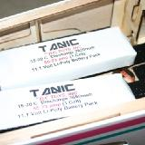 The Tanic 3650MAH packs.