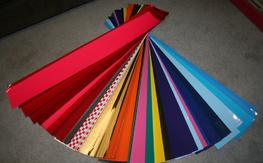 Large lot of trim sheets