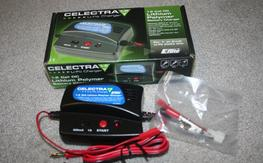 New Eflite Celectra 1-2 cell lipo charger