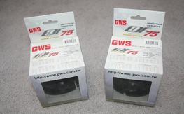 2 GWS EDF75 power systems