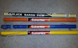 Solartex and Black Baron covering