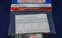 common sense lipo fuel gauge