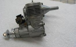 Super tigre 15 motor  with muffler  freeshipping