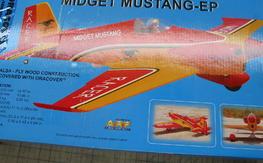BH Models Midget Mustang kit free shipping