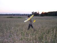 Name: Nikhil recovers his Great Planes Fling, 2m.jpg