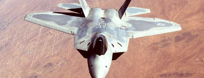 "The ""real"" F-22 Raptor"