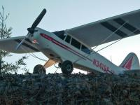 Name: SuperCub on the ridge.jpg