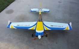 3DHS Extra 330sc, Extreme Flight MXS, Zip Stick