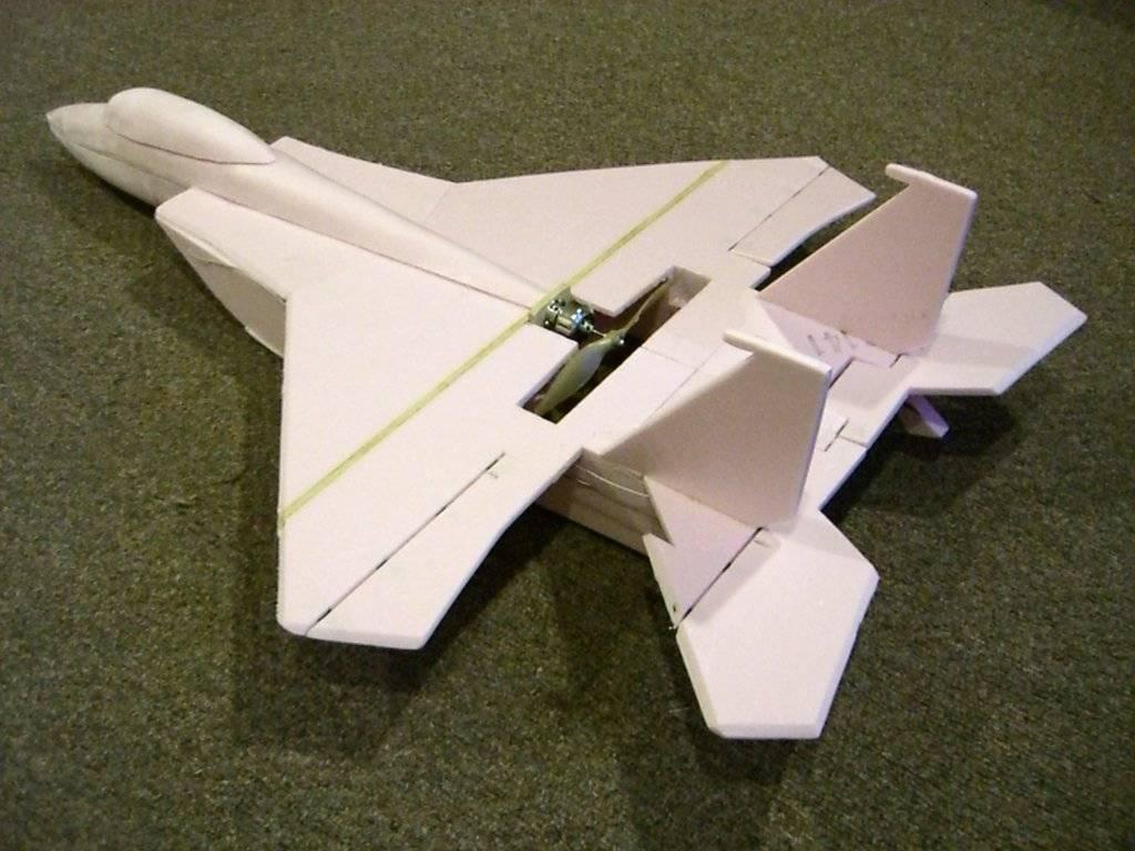 Giant Foamie F 15 Scratch Build Wattflyer Rc Electric