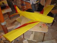 Name: pawnee150% 010.jpg Views: 1155 Size: 72.1 KB Description: Tony65x55's Pawnee scaled 150% with KFm3 airfoil.